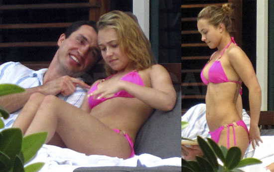 hayden panettiere milo ventimiglia kiss. To see more of Hayden and her