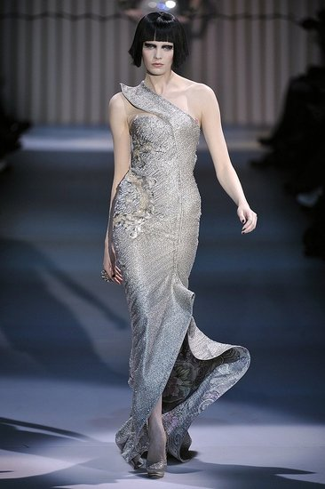 Giorgio Armani Prive Spring 2009 : Photo 50 of 63 | Coutorture :  full length spring 2009 giorgio armani fashion