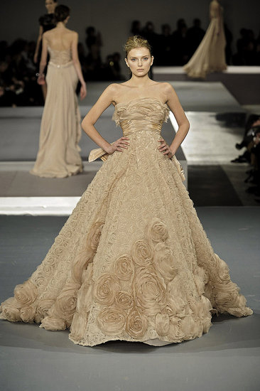 Elie Saab Spring 2009 Haute Couture | Paris, Spring 2009, runway | Coutorture