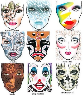 exotic makeup looks. The looks from Mac Halloween