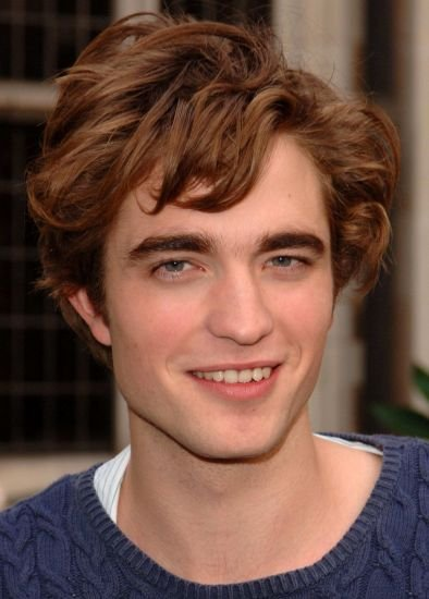 Robert Pattinson Short Hairstyles with Front Layers