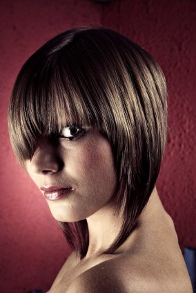 inverted bob back view. Bob Hairstyles Inverted Bob