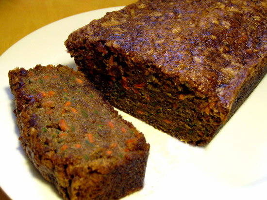 Carrot & Zucchini Quinoa Bread Recipe — Dishmaps