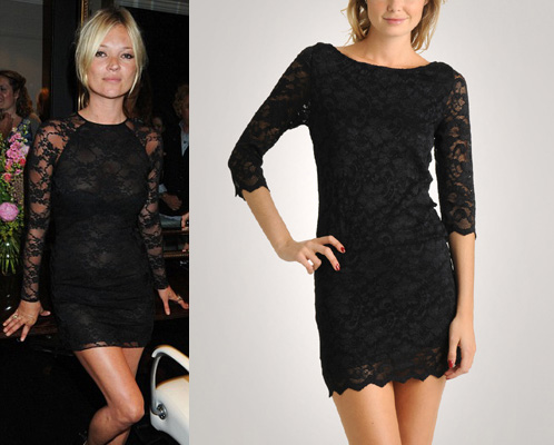 Black Long Sleeve Lace Dress on Am Looking For A Black Lace Dress  A Mini  With 3 4 Or Long Sleeves