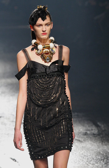 Paris Fashion Week: Lanvin Fall 2009 | runway, Lanvin, Gallery | Coutorture :  fashion collections collar runway reviews style