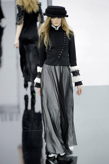 Paris Fashion Week: Chanel Fall 2009 | chanel, runway, Gallery | Coutorture :  full length designer gown dress