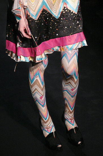 100 Shoes From Paris Fashion Week Fall 2009 | shoes, accessories, feature | Coutorture :  stockings tsumori chisato