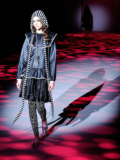Japan Fashion Week: Donna Sgro Fall 2009 | 2009 Fashion Week, 2009 Fall Fashion Week, 2009 Fall Japan Fashion Week | Coutorture :  woman designers designer clothing skirts