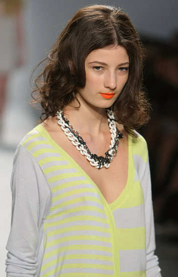 New York Fashion Week: Twinkle by Wenlan Spring 2010 | runway, Gallery, New York Fashion Week | Coutorture :  womens horizontal stripes wenlan twinkle by wenlan
