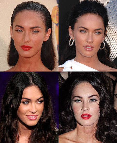 megan fox makeup looks. When it comes to Megan#39;s