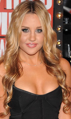 Sultry look of Amanda Bynes