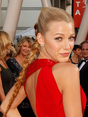 People are sure to be gossiping about Blake Lively's red carpet hair