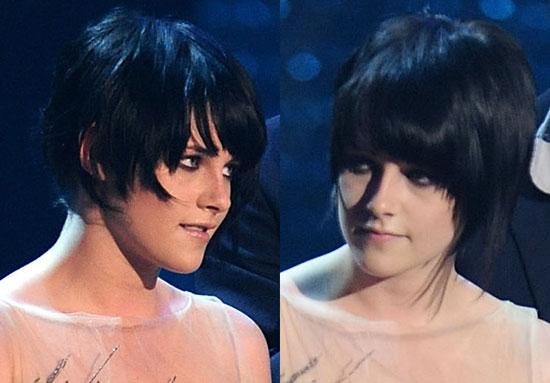 kristen stewart haircut. Kristen Stewart#39;s Haircut at
