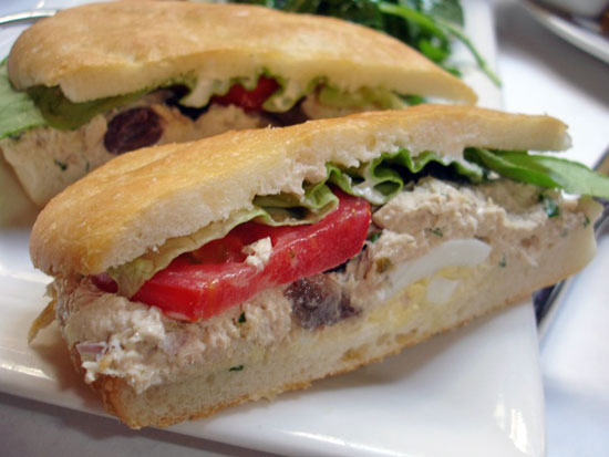 ... sandwich # tuna pan bagnat le french tuna salad sandwich recipe on