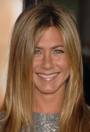 Aniston told talk show host Conan O'Brien: