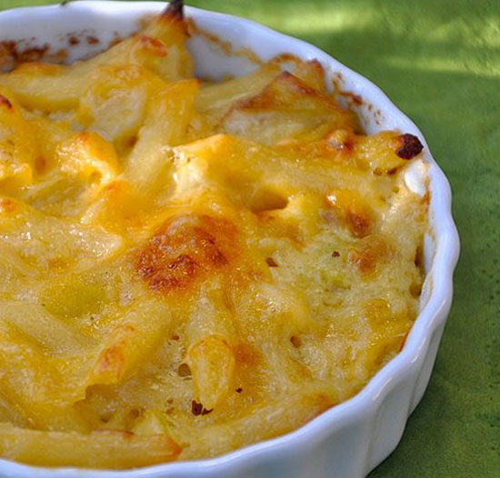 sharp cheddar mac and cheese