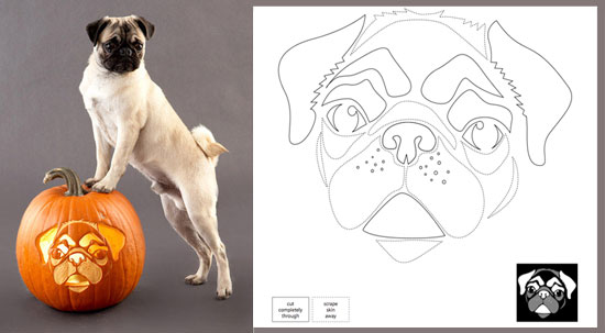 Downloadable Dog Breed Pumpkin Stencils