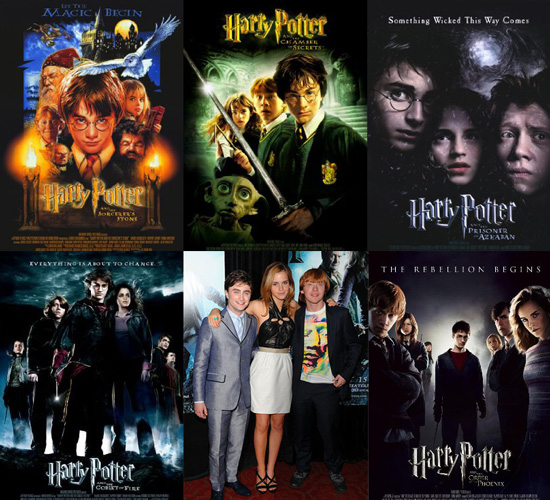 harry potter books series. to see Harry Potter and