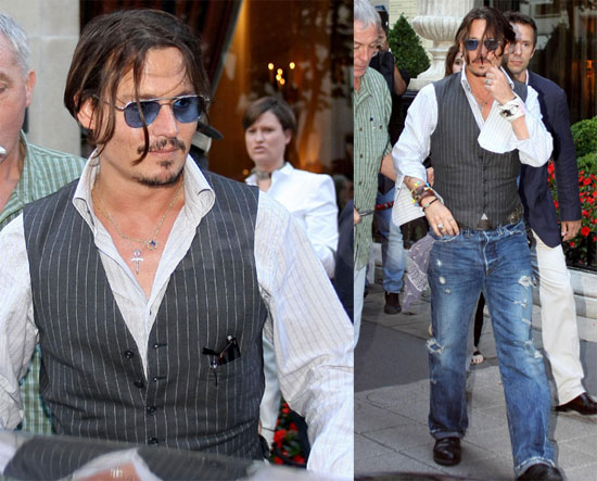 Johnny Depp Public Enemies. Johnny Depp Stays Public in