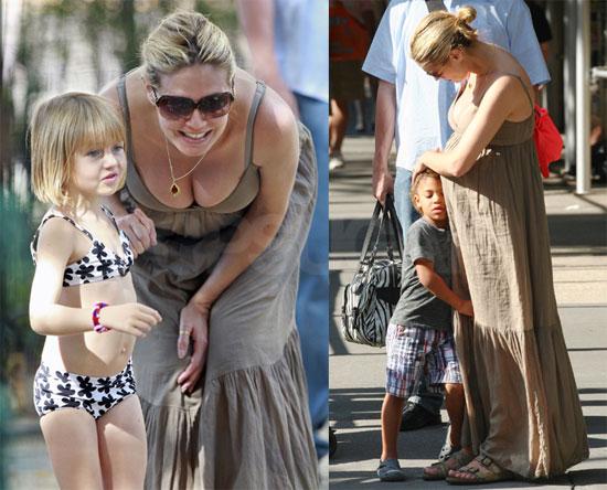 heidi klum kids. and the recent Heidi Klum