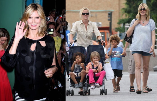 heidi klum seal children. Heidi also mentioned that she