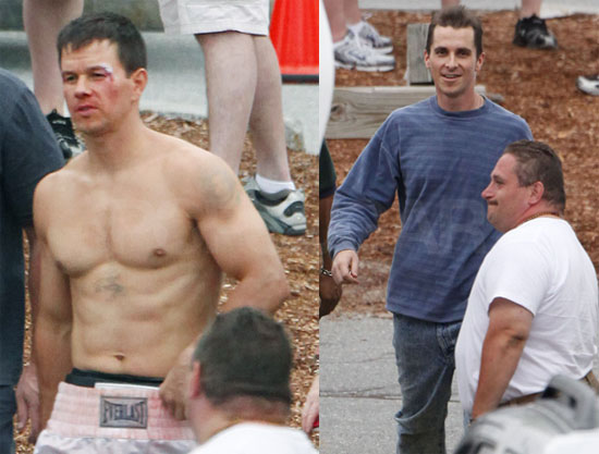 Photos of Shirtless Mark Wahlberg and Skinny Christian ...