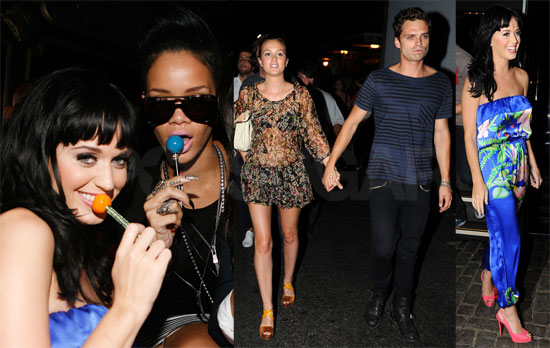 8db9615329912db7 rihannakatyperry72909 ... the night away with her famous friends and Barbados bikini buddy.