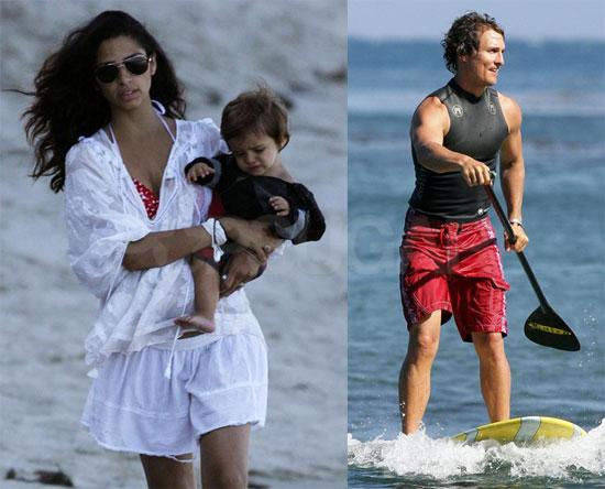 camila alves pregnant bikini. while ikini-clad Camlia