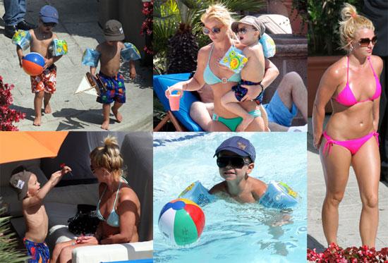 Les Vacances De Britney Spears   Coquine La M U00e8re De