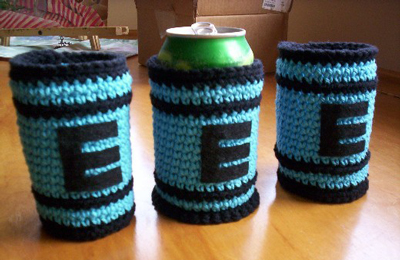 Loom Lore: Quick can koozies