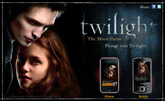 twilight free games