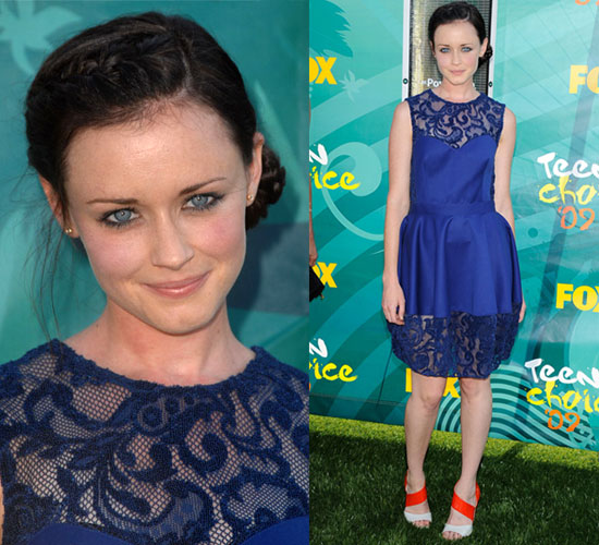 alexis bledel makeup. Photo of Alexis Bledel at Teen