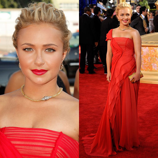 hayden panettiere long dresses. Lady in red Hayden Panettiere