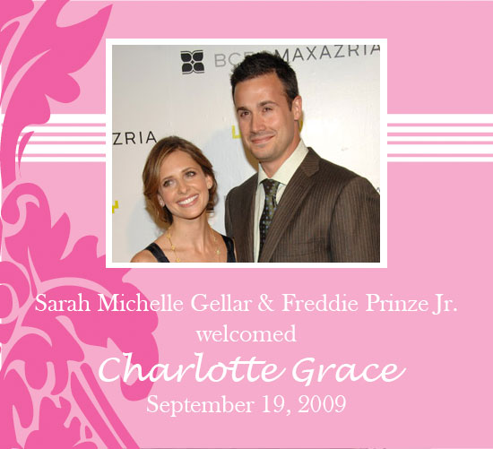 sarah michelle gellar and freddie prinze jr baby. Sarah Michelle Gellar and