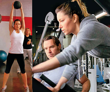jessica biel workout. Jessica Biel#39;s New Workout