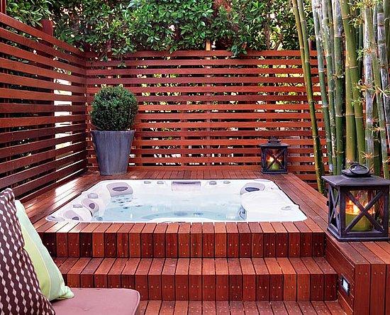 Read More Outdoor Decorating Outdoor Space Katie Leede Hot Tub Polls