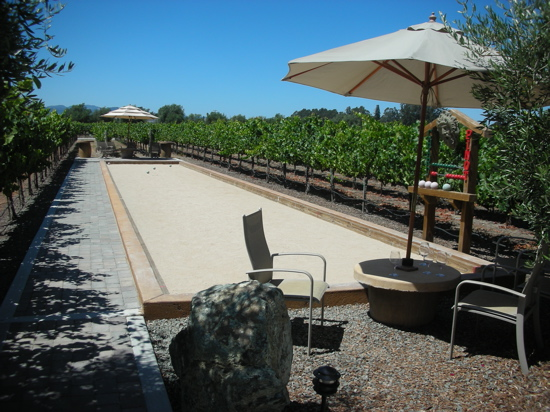 crave worthy a backyard bocce court popsugar home