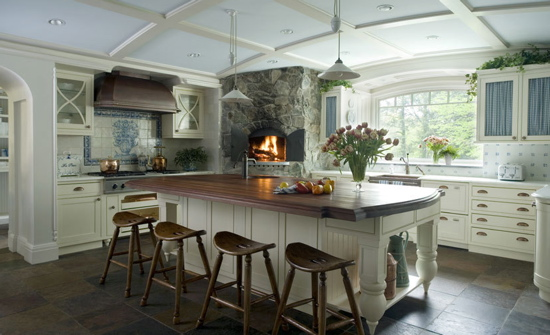 Pics of kitchen island to open dining room – Kitchen Island with Seating for 5
