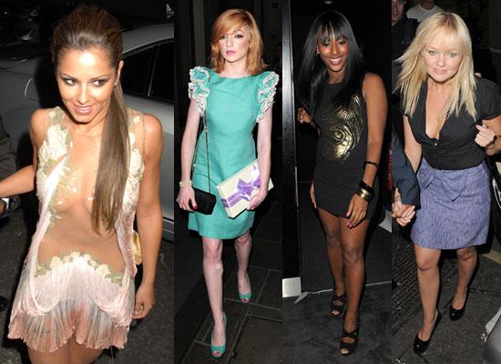 girls flashing party