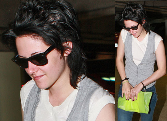 kristen stewart bella wig. She#39;ll have to wear a wig for