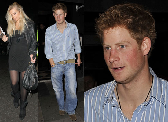 prince harry and chelsy davy. With Harry turning 25 tomorrow
