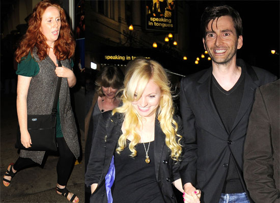 Tennant And Moffett. DJ David Tennant Goes Out with