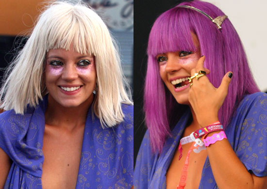 lady gaga no makeup or wig pictures. Which wig do you like the best