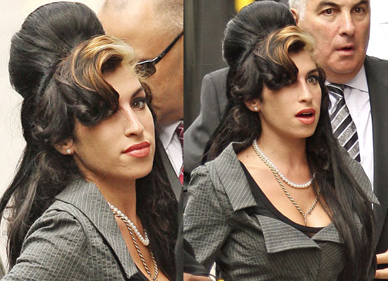 Amy Winehouse hairstyles. Best Dressed Women, 2009 (according to Glamour)
