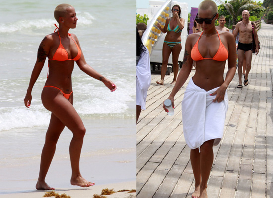 amber rose beach pics. For more photos of Amber