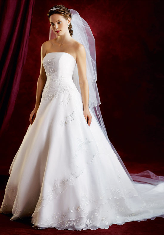 stunning white wedding dress fancy