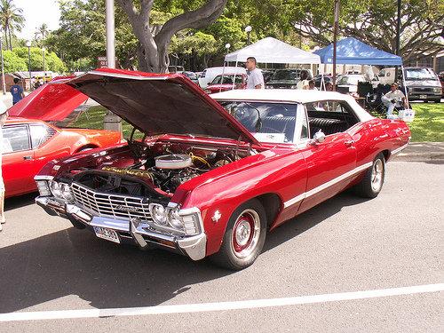 chevrolet impala 67. 1967 Chevy Impala Convertible.