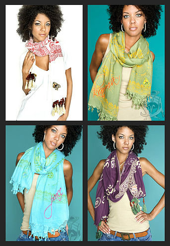 Sir Alistair Rai Rudraksha and Gayatri Scarves | So Cal Fashion Updates :  alistair rai scarf scarves sir alistair rai