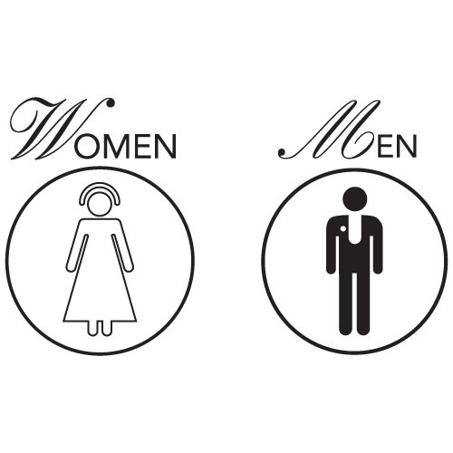 monsvabacir / Wiki / Printable Restroom Signs