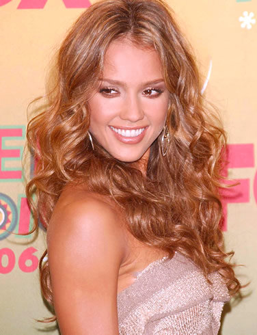 Jessica Alba Hair Strawberry Blonde